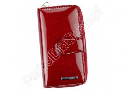 Portfel skórzany Gregorio PT-116 - Kolor czerwony