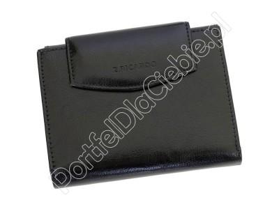 Portfel skórzany Z.Ricardo 085 - Kolor czarny