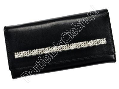 Damski skórzany portfel Rovicky CPR-015-CRY-BAR