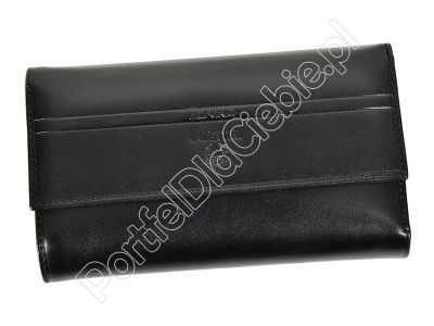 Portfel skórzany Emporio Valentini 563 230 - Kolor czarny