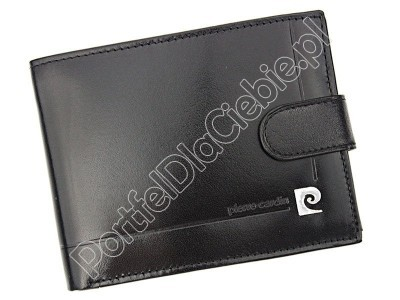 Portfel skórzany Pierre Cardin YS507.1 324A RFID - Kolor czarny