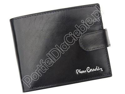 Portfel skórzany Pierre Cardin YS520.1 324A - Kolor czarny