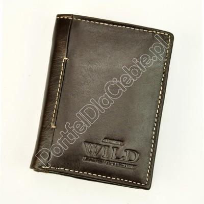 Portfel skórzany Wild N915-VTK
