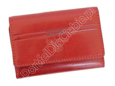 Portfel skórzany Emporio Valentini 563 P5 - Kolor czerwony