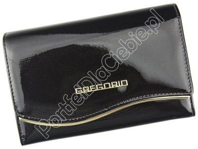Portfel skórzany Gregorio ZLF-112 - Kolor ciemny brąz