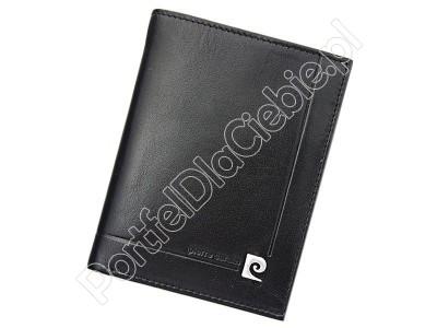 Portfel skórzany Pierre Cardin YS507.1 331 RFID - Kolor czarny
