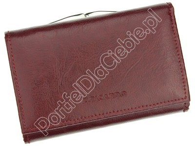 Skórzany damski portfel Z.Ricardo 025