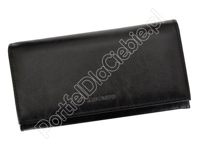 Portfel skórzany Z.Ricardo 080 - Kolor czarny
