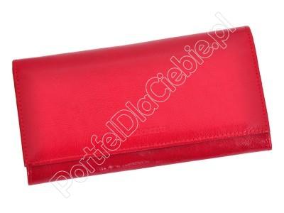 Portfel skórzany Z.Ricardo 080 - Kolor czerwony