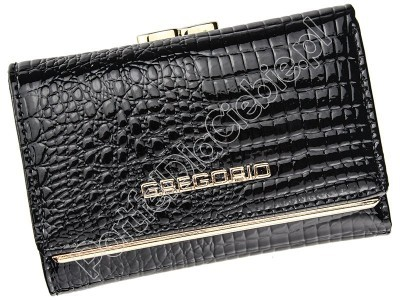 Skórzany portfel damski Gregorio SLL-117