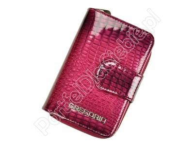 Mały skórzany portfel damski Gregorio GF115