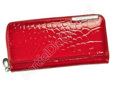 Portfel skórzany Gregorio BC-111 - Kolor czerwony