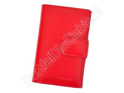 Portfel skórzany Z.Ricardo 094 - Kolor czerwony