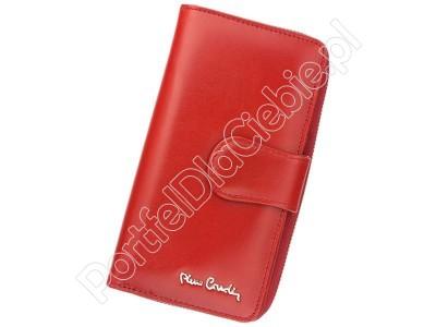 Portfel skórzany Pierre Cardin 01 LINE 116 - Kolor czerwony