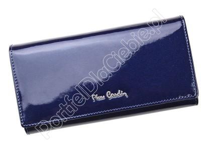Portfel skórzany Pierre Cardin 05 LINE 114 - Kolor niebieski