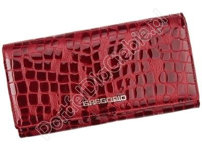 Damski skórzany portfel Gregorio FS-100