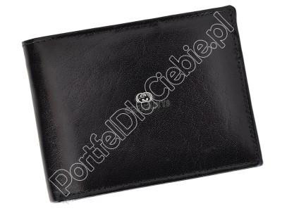 Portfel skórzany Cefirutti 7680286 - Kolor czarny